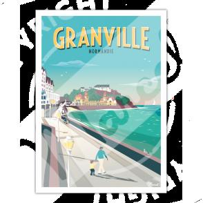 Affiche GRANVILLE