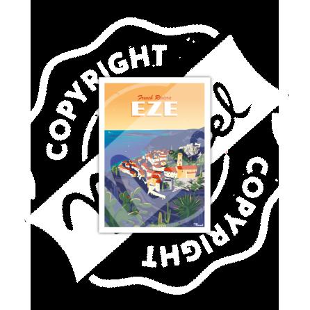 Carte Postale EZE