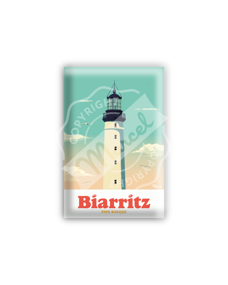 "MAGNET BIARRITZ "" Le Phare """
