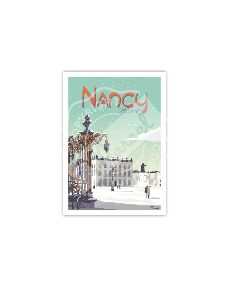 "Postcard NANCY "" Place Stanislas """