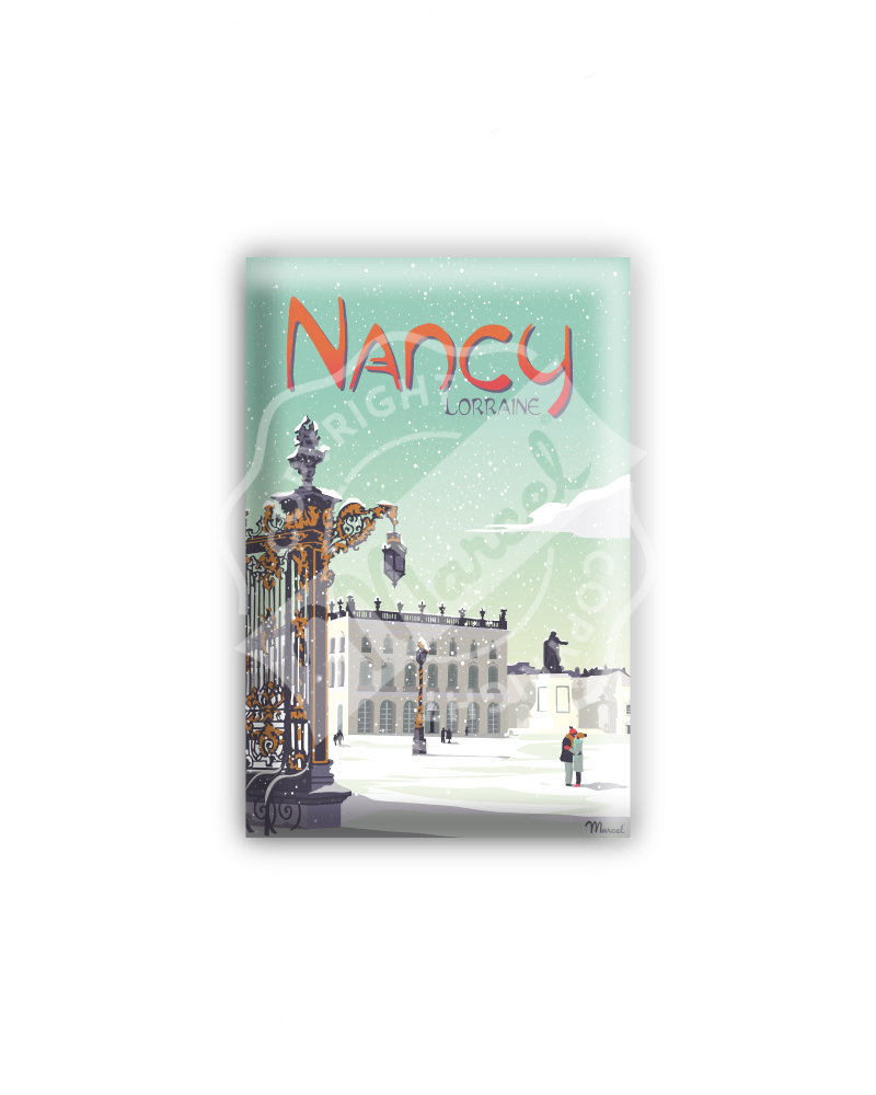 "MAGNET NANCY "" Place Stanislas """