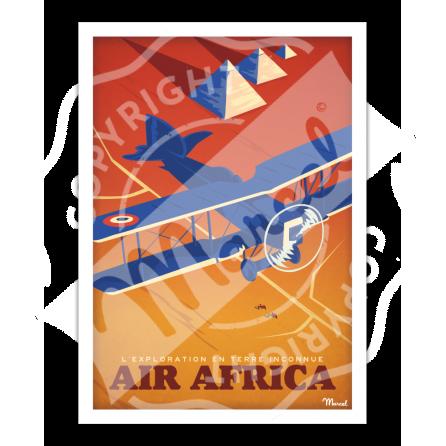 "Affiche AEROPOSTALE "" Air Africa """