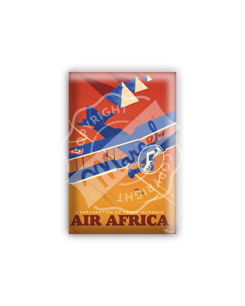 "MAGNET AEROPOSTALE ""Air Africa"""