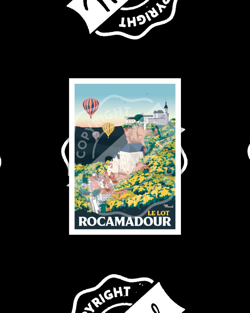 Postcard ROCAMADOUR