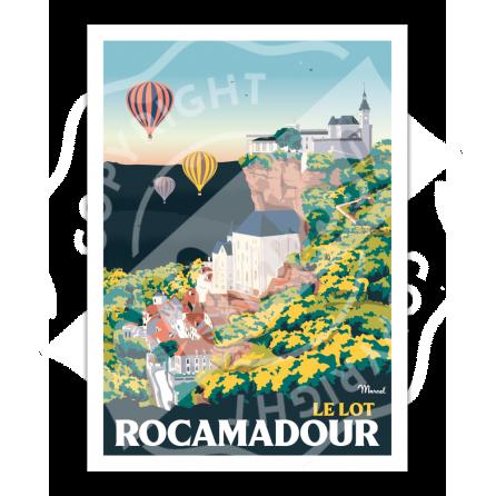 Affiche ROCAMADOUR