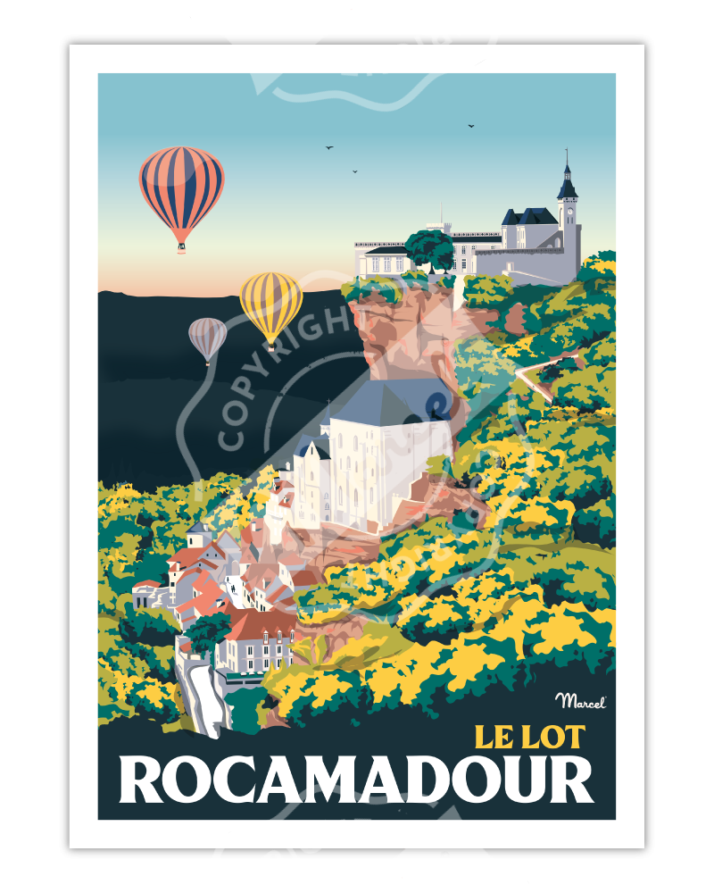 Poster ROCAMADOUR