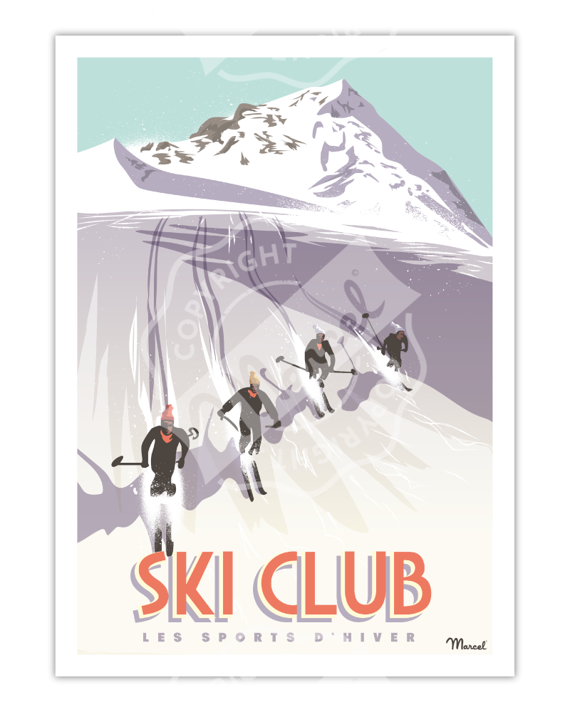 Poster SKI CLUB