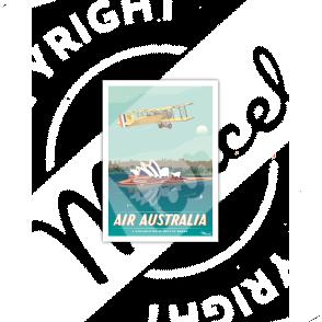 Carte Postale AIR AUSTRALIA