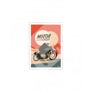 Carte Postale MOTORCYCLES