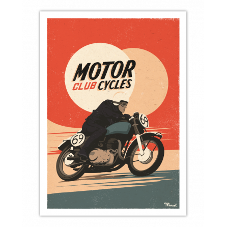 Affiche MOTORCYCLES