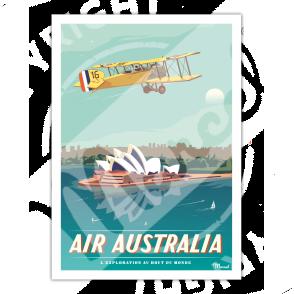 Affiche AIR AUSTRALIA