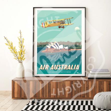 Poster AIR AUSTRALIA