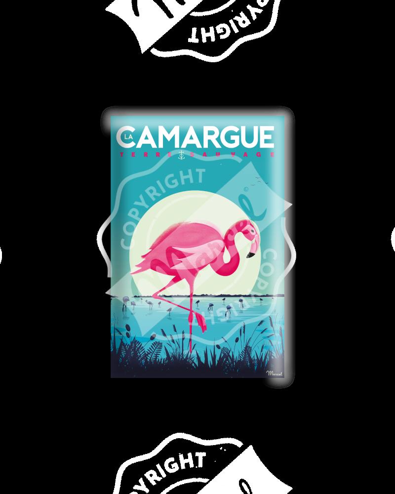 """MAGNET CAMARGUE """"Flamingos"""""""