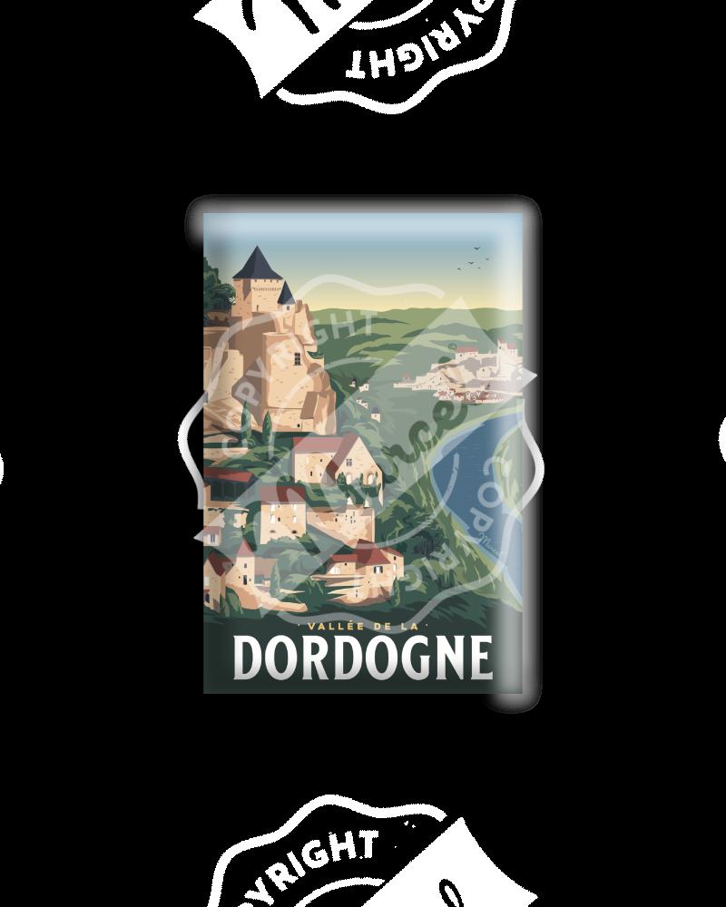 MAGNET LA VALLEE DE LA DORDOGNE