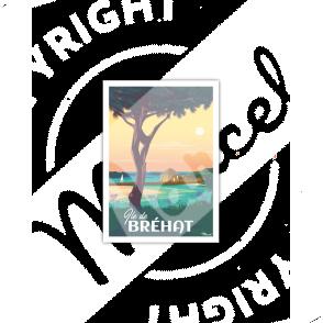 Carte Postale ILE DE BREHAT