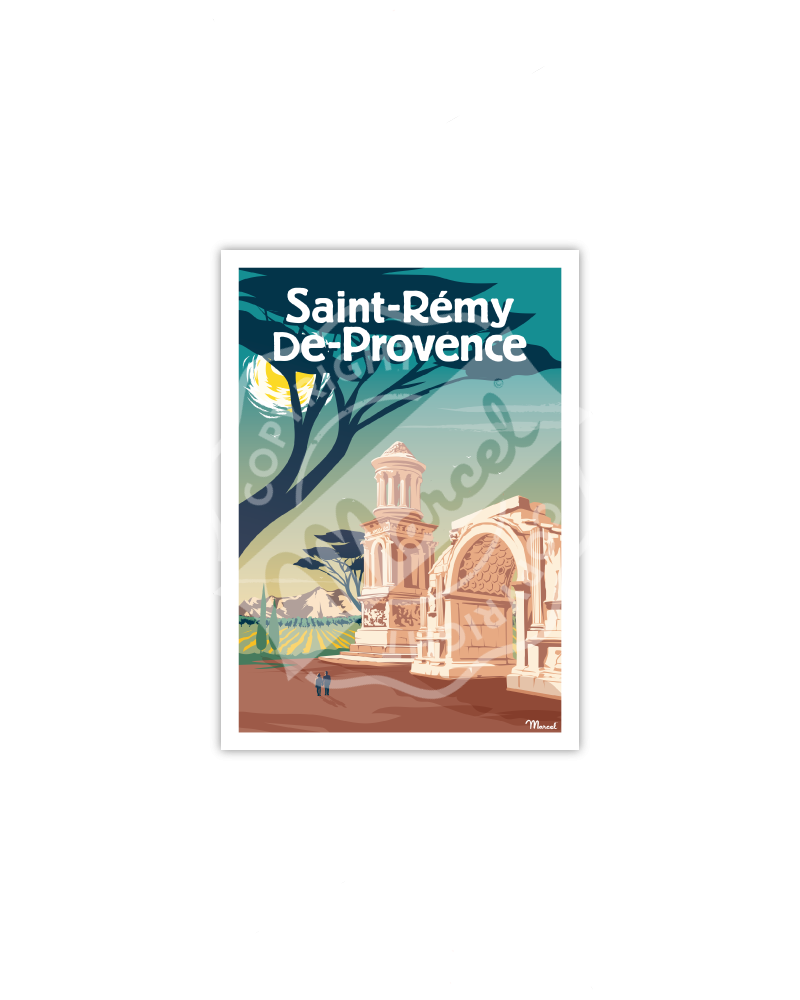 Carte Postale SAINT-REMY-DE-PROVENCE