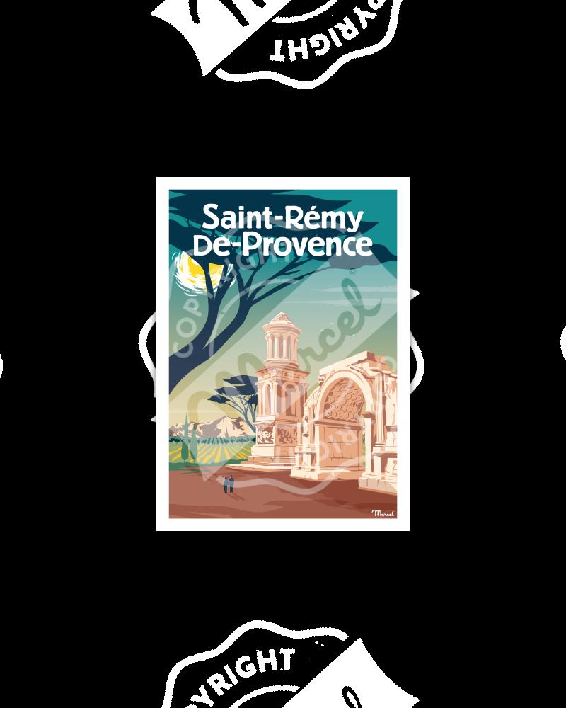 Postcard SAINT-REMY-DE-PROVENCE
