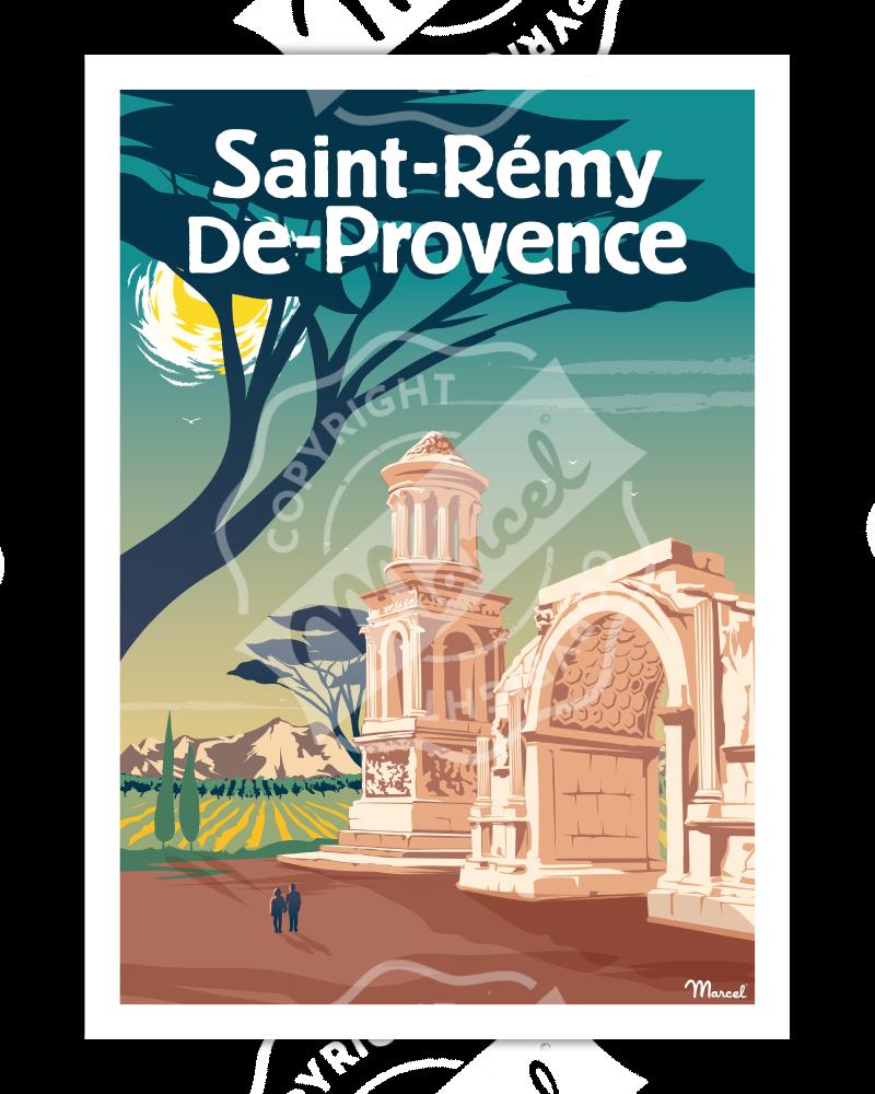 Affiche SAINT-REMY-DE-PROVENCE