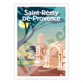 Poster SAINT-REMY-DE-PROVENCE