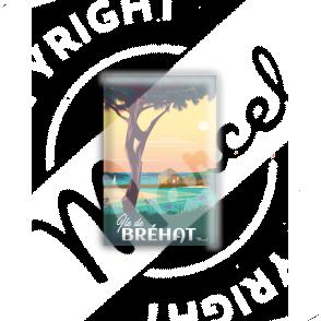 MAGNET ILE DE BREHAT