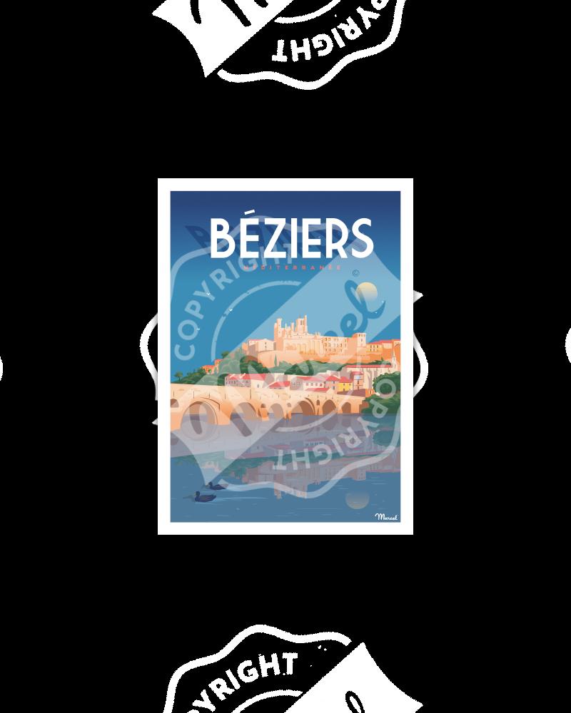 Postcard BEZIERS