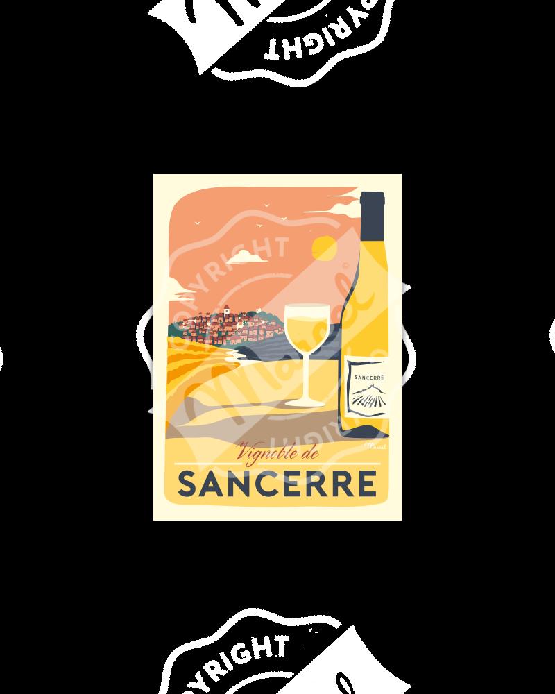 Carte Postale VIGNOBLE DE SANCERRE