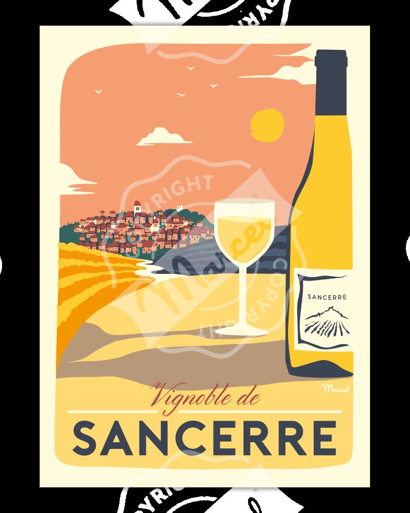 Poster VIGNOBLE DE SANCERRE