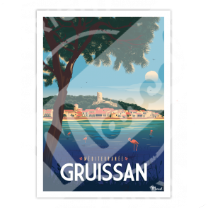 Affiche GRUISSAN