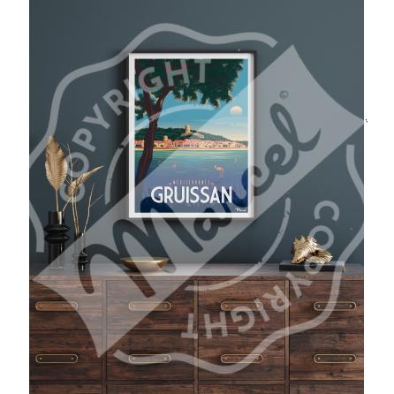 Poster GRUISSAN