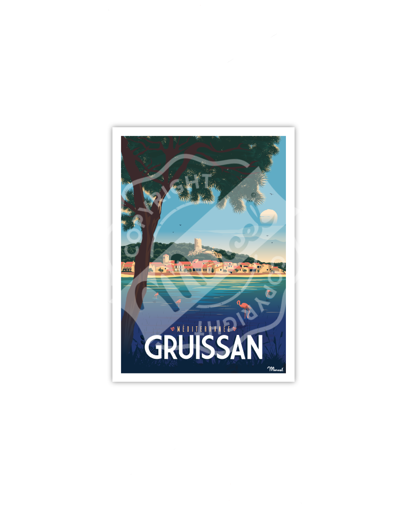 Postcard GRUISSAN