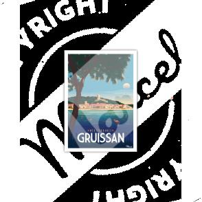 Carte Postale GRUISSAN