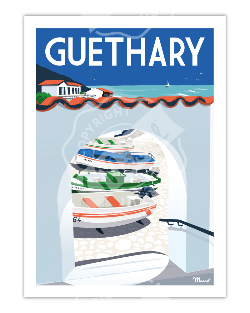 Poster GUETHARY ''Le Port''
