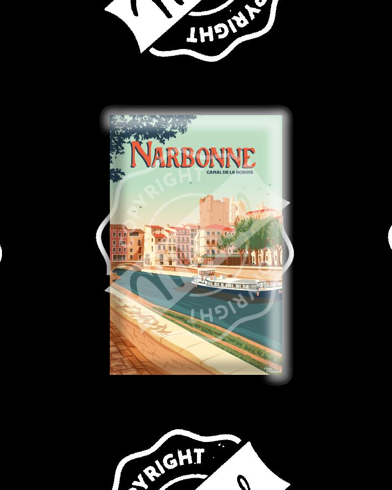 MAGNET NARBONNE ''Le Canal de la Robine''