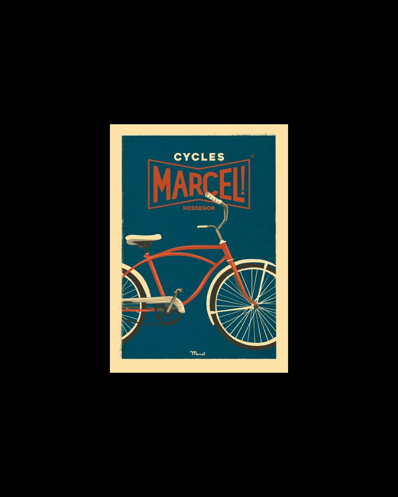 Carte Postale CYCLES MARCEL