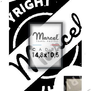 CADRE Format A6 NOIR MAT