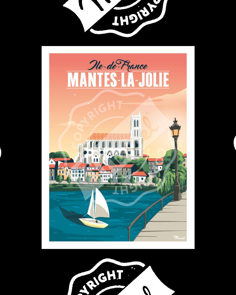 Poster MANTES-LA-JOLIE