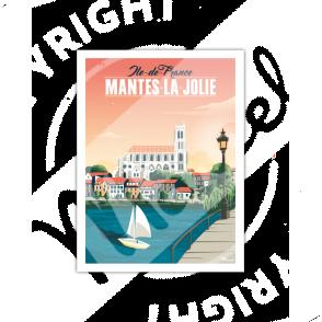 AFFICHE MANTES-LA-JOLIE