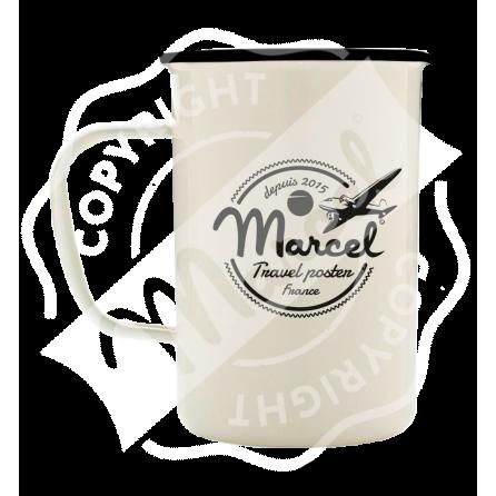 Mug Emaillé Style Rétro Marcel - HOSSEGOR Surfboards