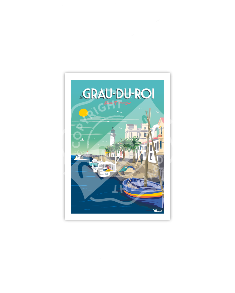 Carte Postale LE GRAU DU ROI ''Port Camargue''