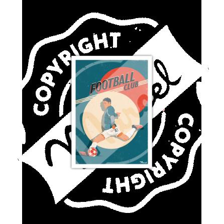 Carte Postale FOOTBALL CLUB