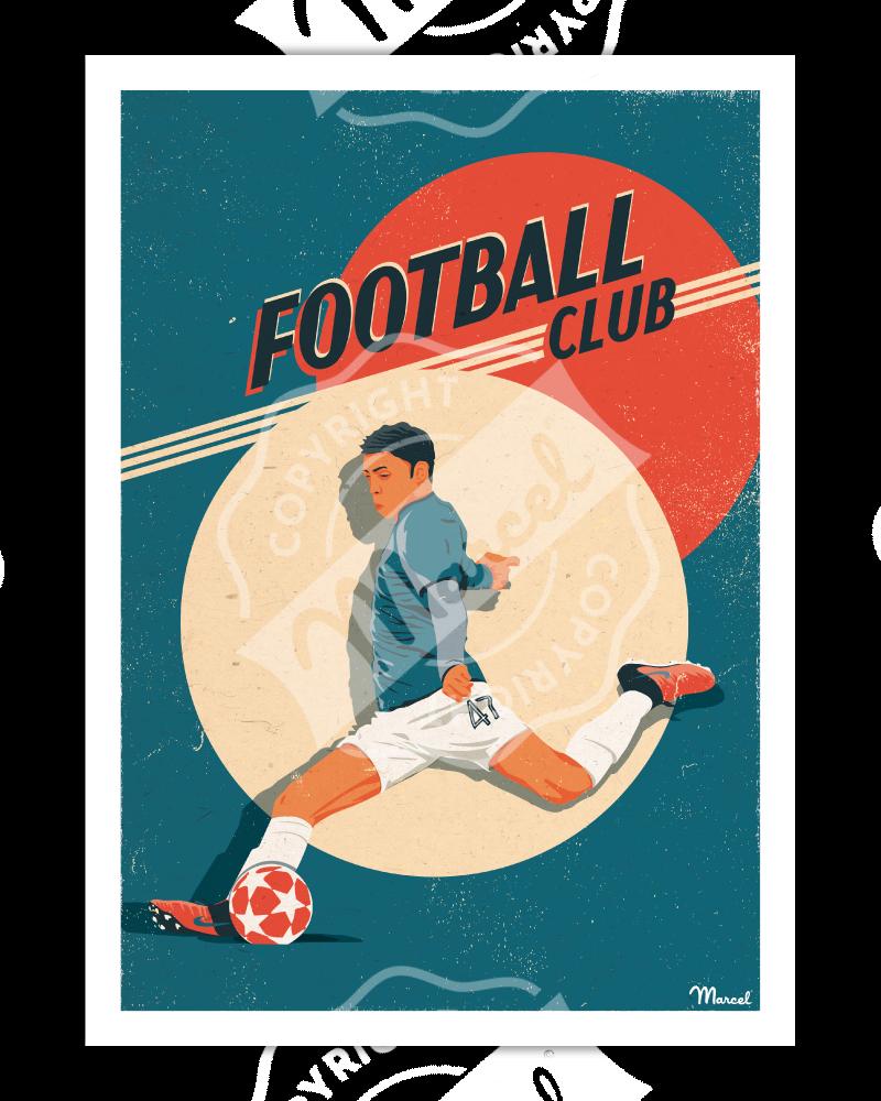 Affiche FOOTBALL CLUB