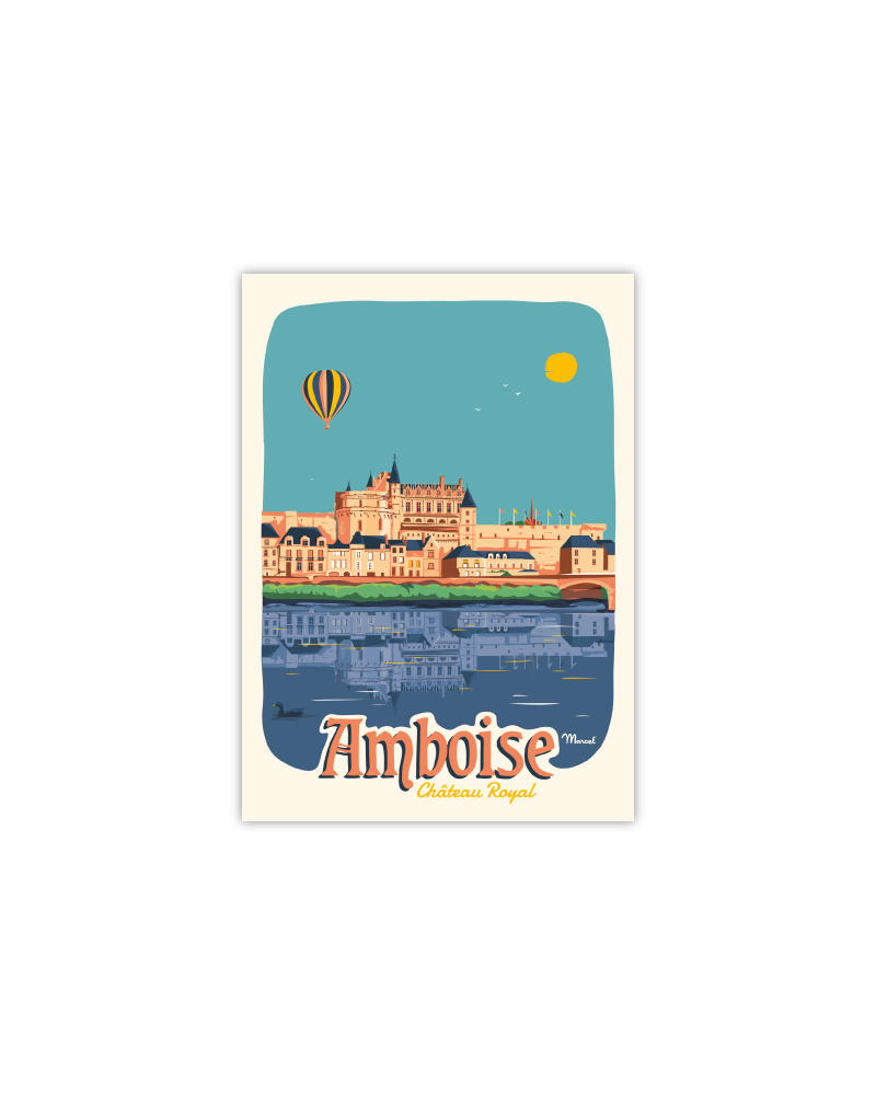Carte Postale AMBOISE ''Château Royal''