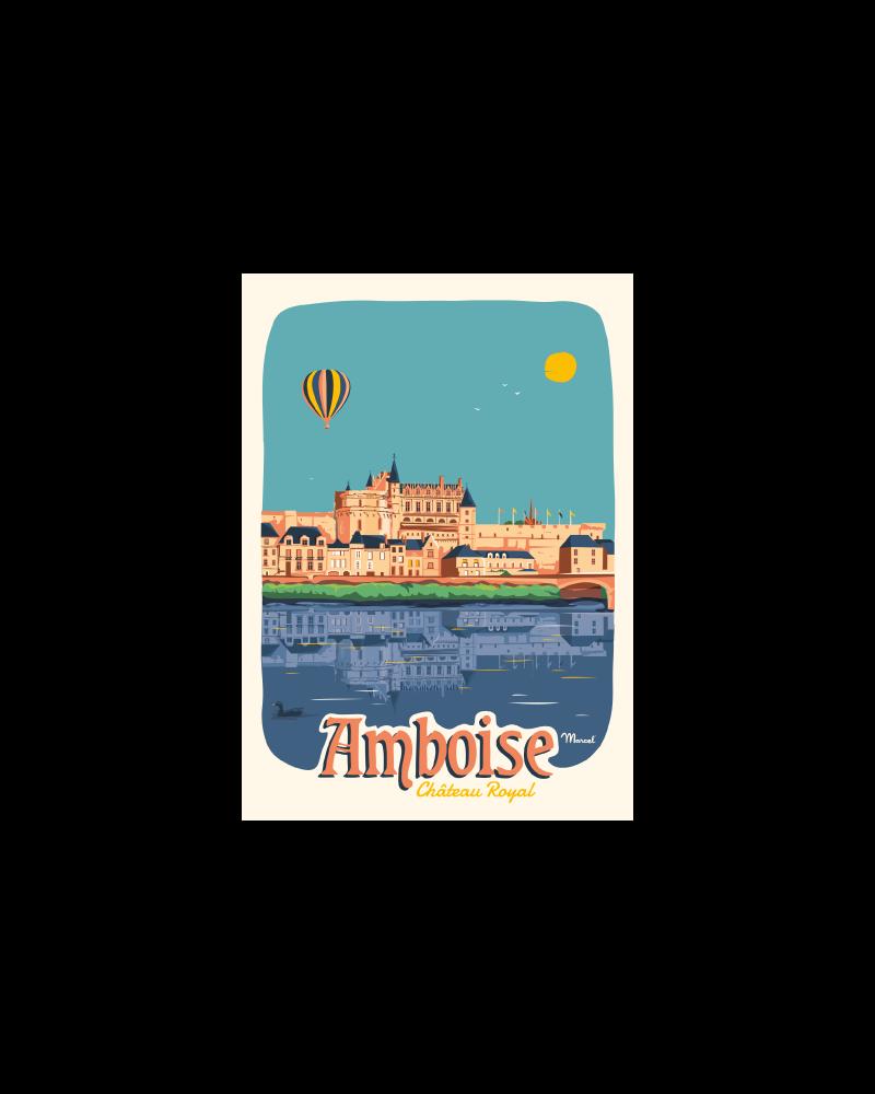 Postcard AMBOISE ''Château Royal''