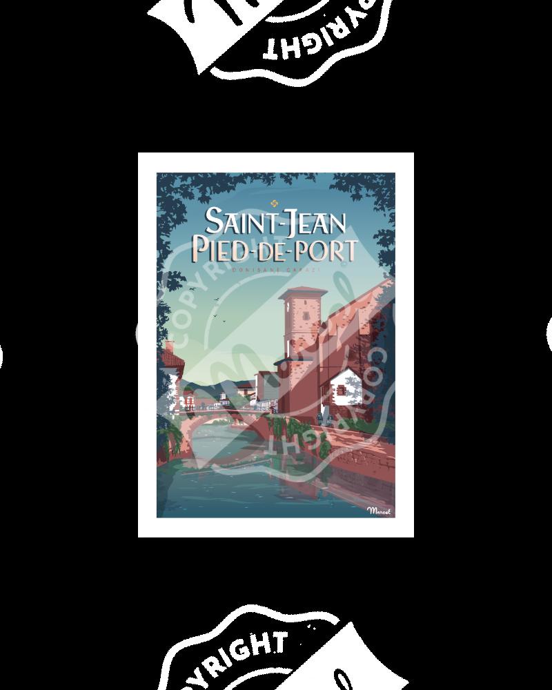 Carte Postale SAINT-JEAN-PIED-DE-PORT