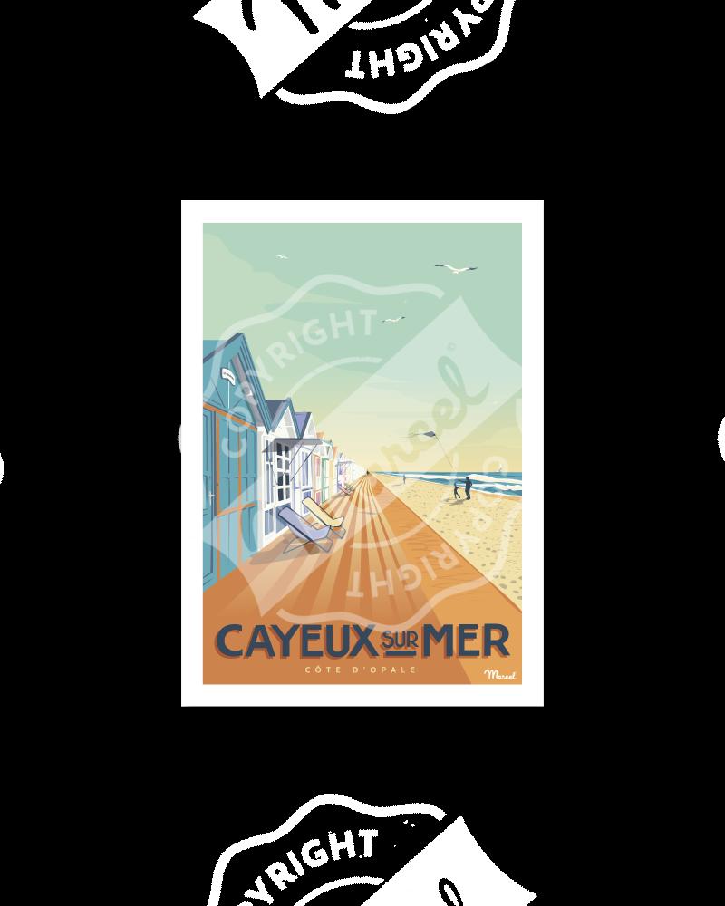 Carte Postale CAYEUX-SUR-MER
