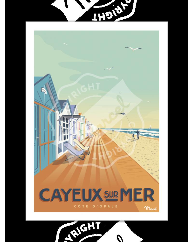 Poster CAYEUX-SUR-MER