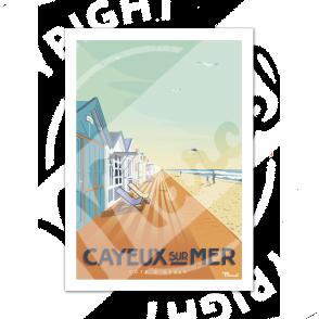 Affiche CAYEUX-SUR-MER