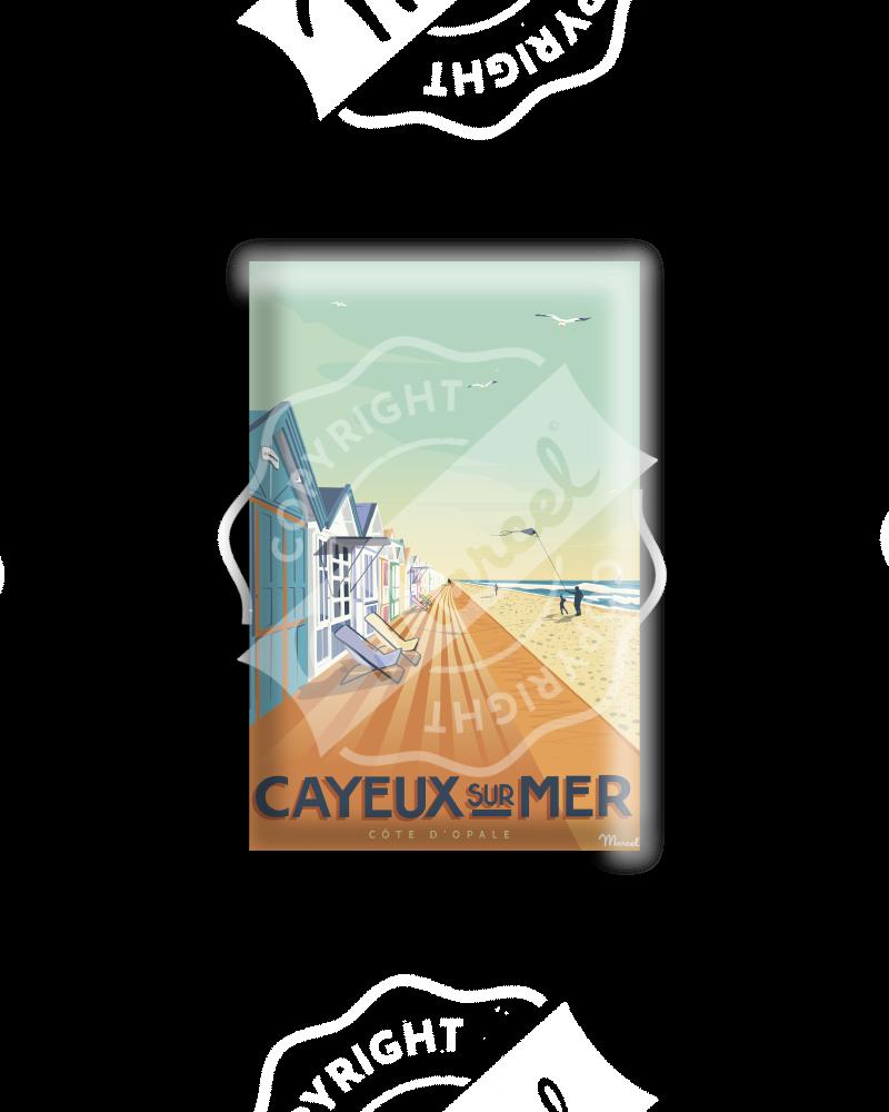 MAGNET CAYEUX-SUR-MER