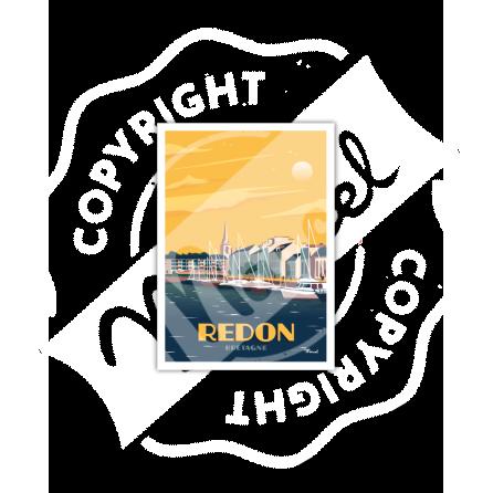 Carte Postale REDON