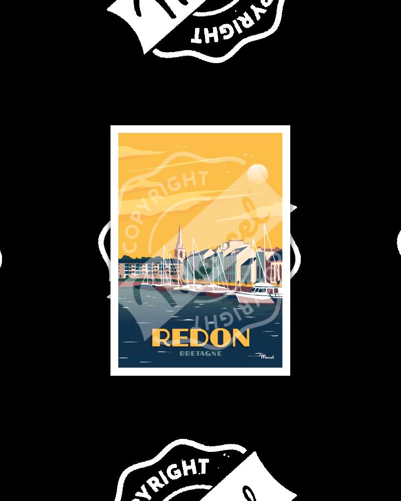 Postcard REDON